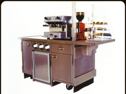 Small Coffee Market Cart (back)