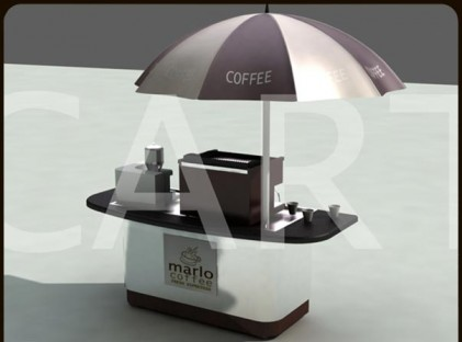 Small Coffee Cart : Marlo Coffee (front)