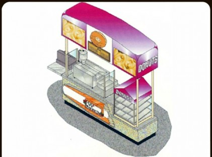 Donut Cart : Woolworths
