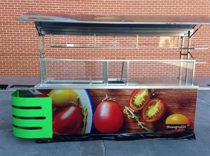 Front of Food Cart