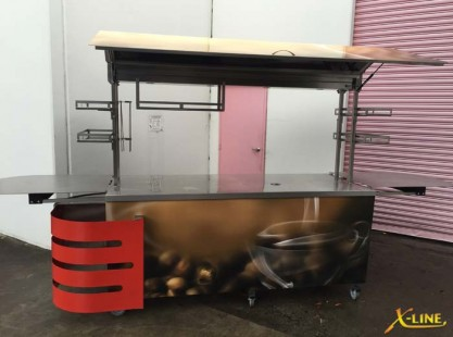 X-Line Large Coffee Cart Holroyd Council