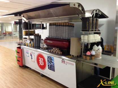 Extra Large Coffee Cart: X-Line Byng St