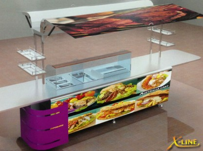 X-Line : Large Grill Cart