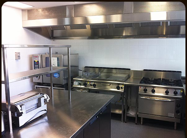 Stainless Steel Commercial Kitchens Catering Equipment