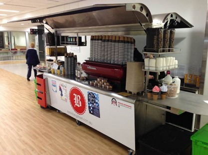 X-Line Extra Large Coffee Cart