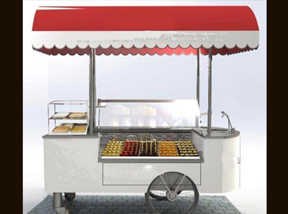 Set Down Popsicle Cart/Sink