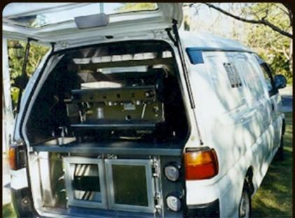 Coffee Van : Toyota Hiace