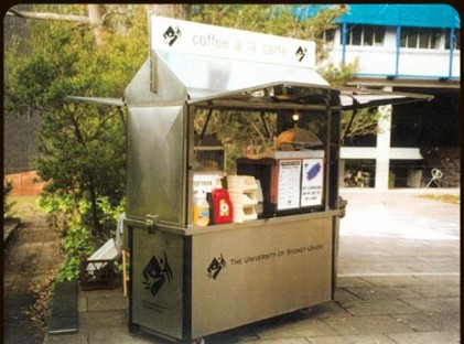 Medium Coffee Cart : Sydney Uni