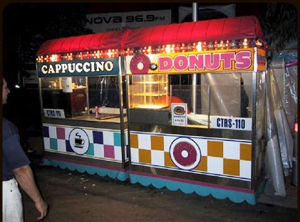 Donut Coffee Cart
