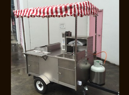 Hot Dog Food Cart - HD200