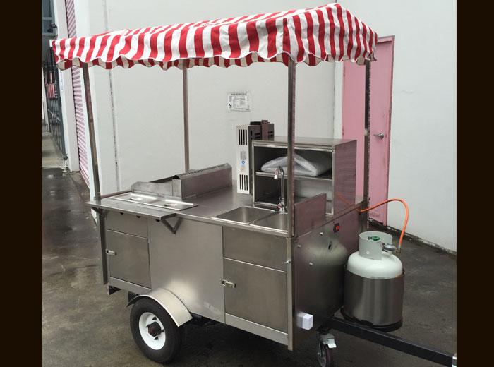 Hot Dog Food Cart