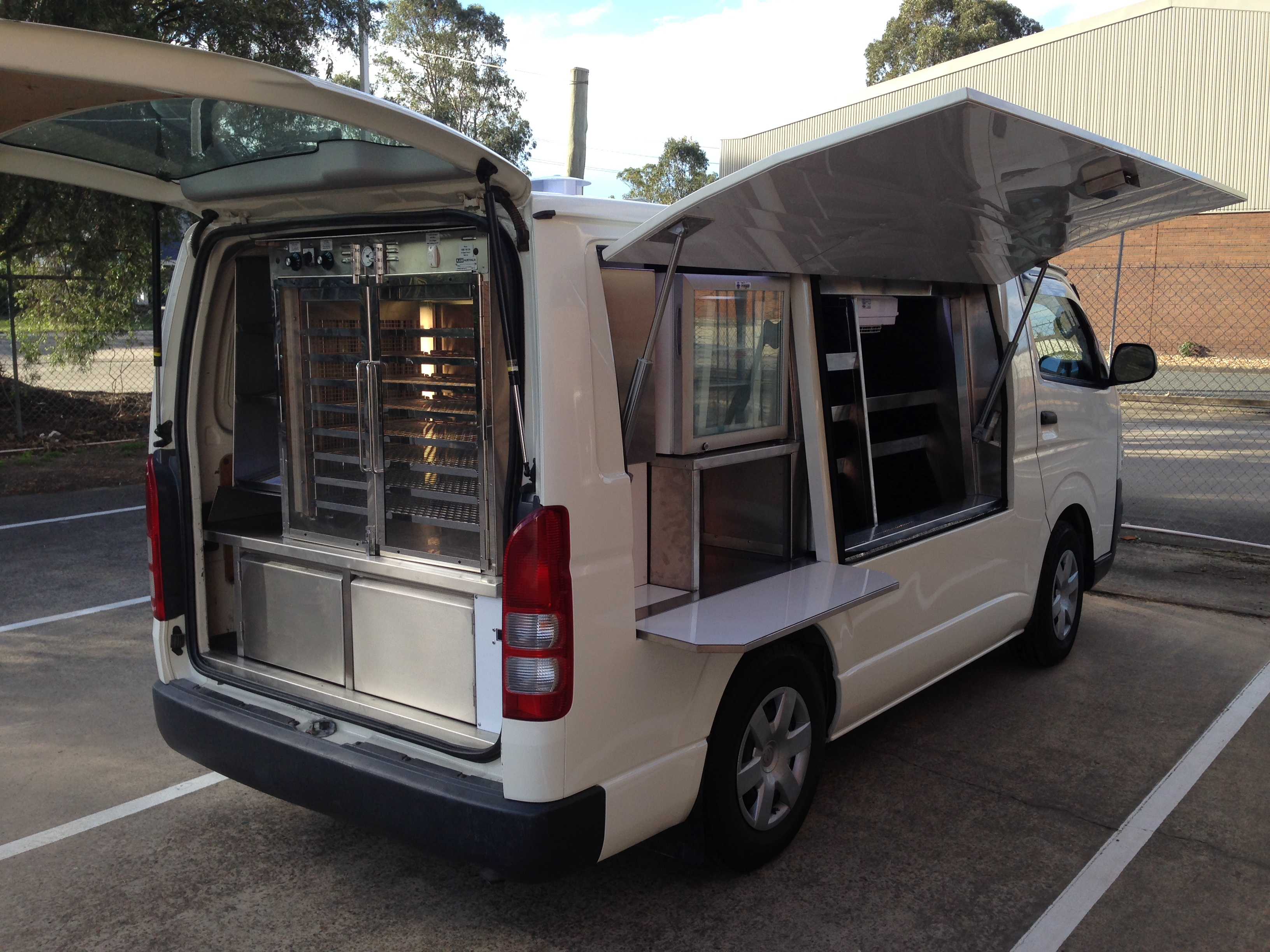 Coffee Vans Food Vans Carts Australia