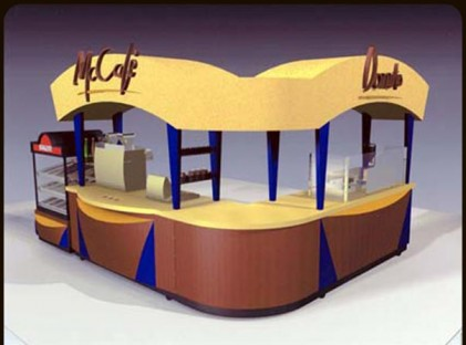 Kiosk : McCafe Donuts