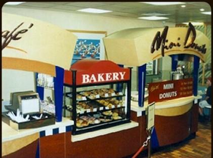Kiosk : Mini Donuts
