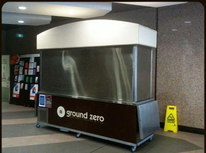 Large Coffee Cart : Ground Zero