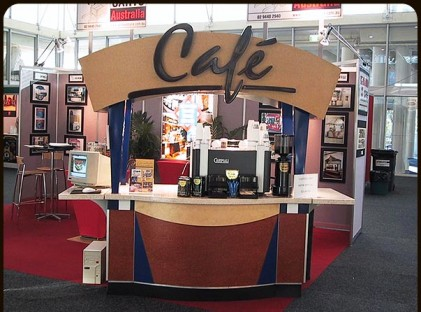Medium Coffee Cart : Cafe