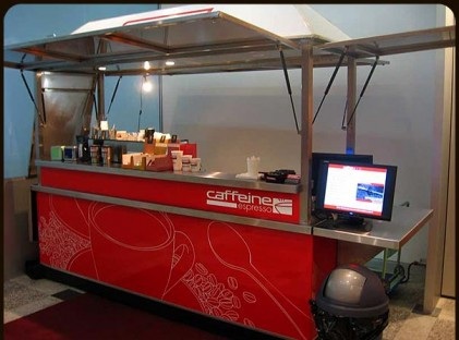 Medium Coffee Cart : Caffeine Espresso