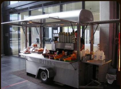 Medium Coffee Cart :Waterloo Rd