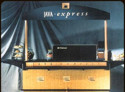 Medium Coffee Cart : Java Express