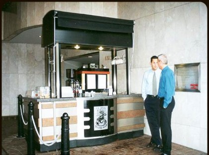 Medium Coffee Cart : MR Espresso