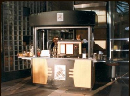 Medium Coffee Cart : MR Espresso 2