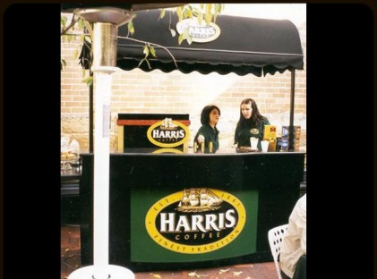 Medium Coffee Cart : Harris Coffee