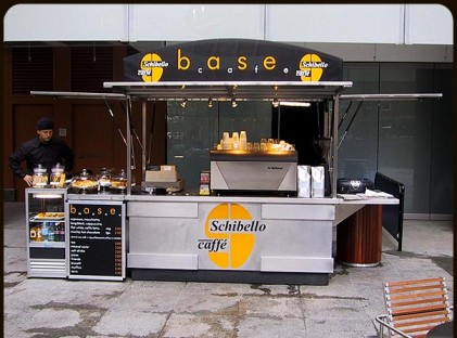 Medium Coffee Cart : Schibello Cafe