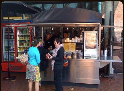 Medium Coffee Cart :  UTS Sydney