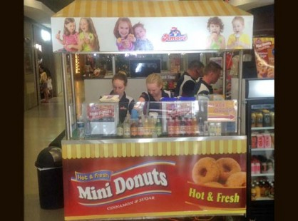 Mini Donuts Food Cart