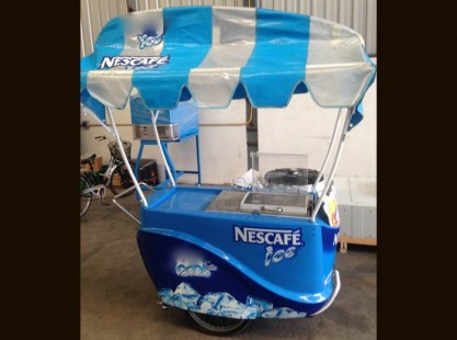 Nescafe Ice Beverage Cart