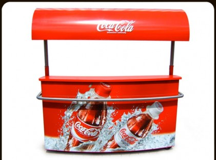 Beverage Cart : Coke Stand
