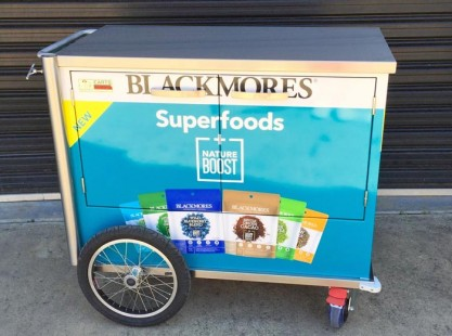 Blackmores Beverage Cart