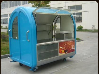 Blue Portable Kiosk