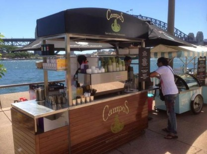 Large Coffee Cart - Campos