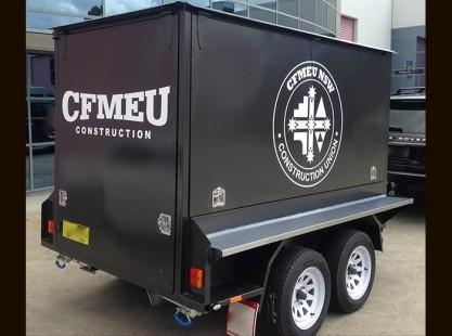 CFMEU BBQ Trailer