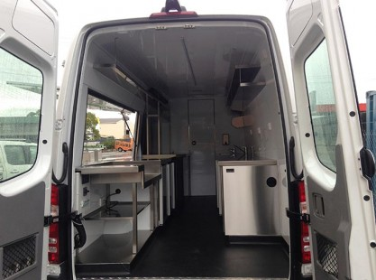 Mobile Coffee Van Layout