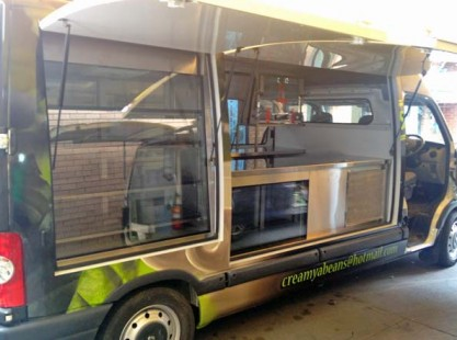 Coffee Van: Cream Ya Beans Open