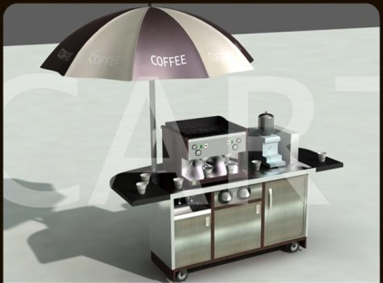 Small Coffee Cart : Marlo Coffee (back)