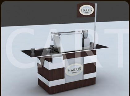 Small Coffee Cart : Harris (front)