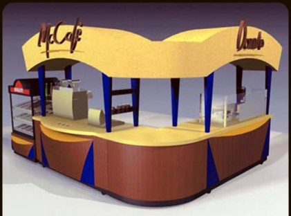 Coffee Kiosk : McCafe 2