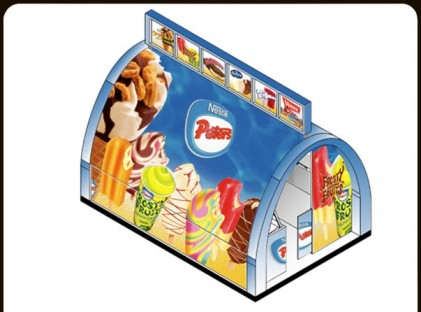 Ice Cream Kiosk : Peters 1