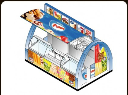 Ice Cream Kiosk : Peters 2
