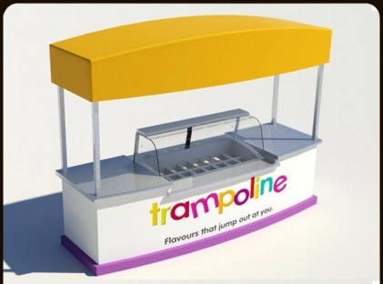 Ice Cream Cart: Gelato - Trampoline 2