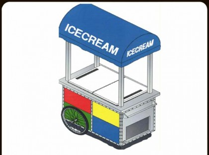 Ice Cream Push Cart : Sega World