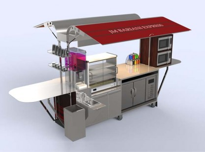 Food Cart Express - Rear
