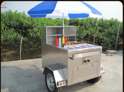 Compact Food Trailer
