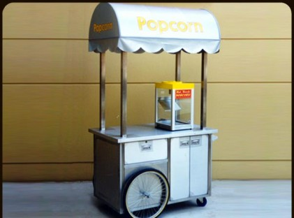 Popcorn Cart : Fox Studios