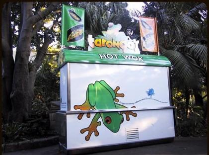 Wok Cart : Taronga Zoo