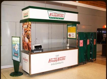 Donut Cart : Krispy Kreme