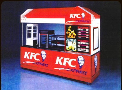 Chicken Cart : KFC